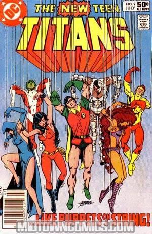 New Teen Titans #9