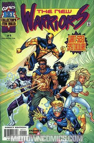 New Warriors Vol 2 #1
