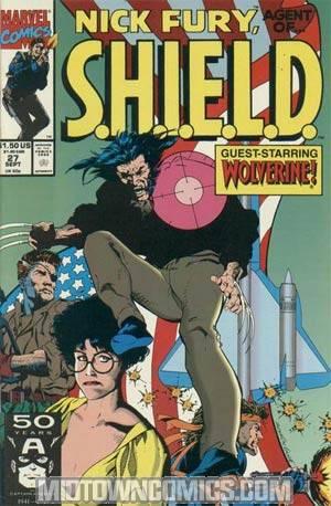 Nick Fury Agent Of SHIELD Vol 2 #27