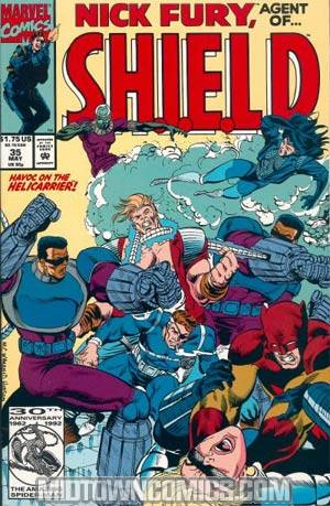 Nick Fury Agent Of SHIELD Vol 2 #35