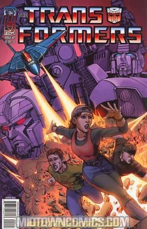 Transformers Infiltration #2 Raiz Cvr