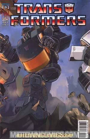Transformers Infiltration #2 Su Cvr