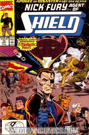 Nick Fury Agent Of SHIELD Vol 2 #15