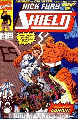 Nick Fury Agent Of SHIELD Vol 2 #19