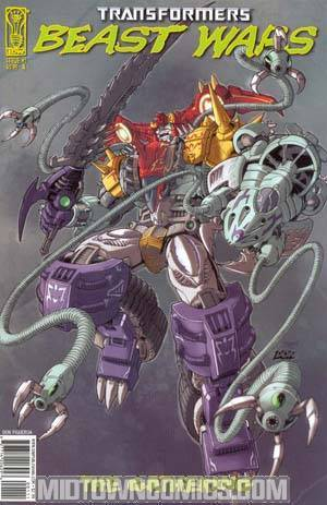 Transformers Beast Wars #1 Cover A Magmatron Cover