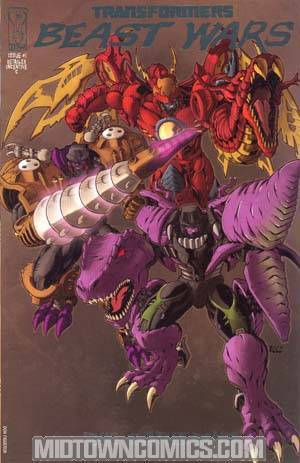 Transformers Beast Wars #1 Incentive Cover C Megatron