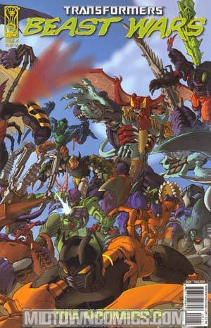 Transformers Beast Wars #1 Cover D Wraparound Cover