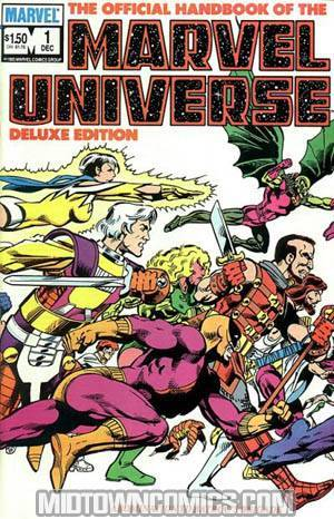 Official Handbook Of The Marvel Universe Vol 2 #1