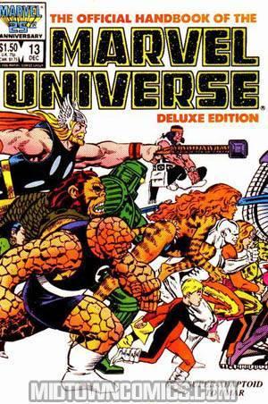 Official Handbook Of The Marvel Universe Vol 2 #13