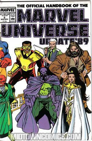 Official Handbook Of The Marvel Universe Vol 3 #6