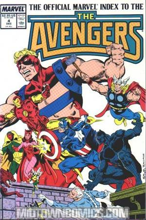 Official Marvel Index To The Avengers #4