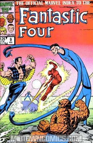 Official Marvel Index To The Fantastic Four #9