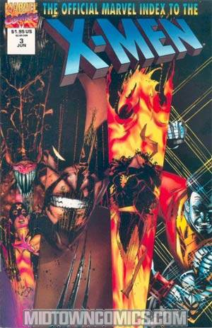 Official Marvel Index To The X-Men Vol 2 #3