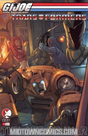 GI Joe vs Transformers Vol 3 Art Of War #1 Cvr B
