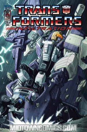 Transformers Infiltration #3 Guidi Cvr