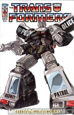 Transformers Infiltration #3 Incentive Guidi Prowl Cover