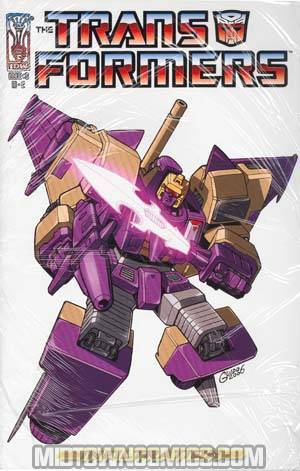 Transformers Infiltration #3 Incentive With 3 Mini Prints Cover