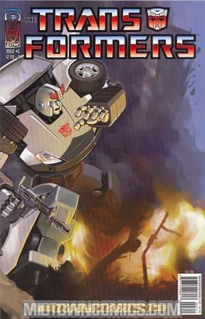Transformers Infiltration #3 Su Cvr