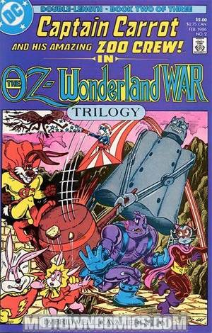 Oz-Wonderland Wars #2