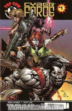 Cyberforce Vol 3 #1 Cover A David Finch