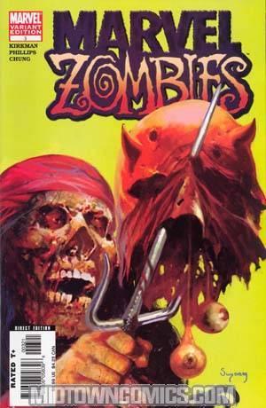 Marvel Zombies #3 2nd Ptg Var