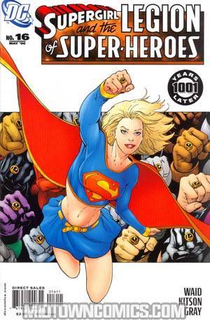 Supergirl And The Legion Of Super-Heroes #16 1st Ptg