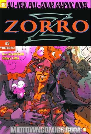 Zorro Vol 3 Vultures HC
