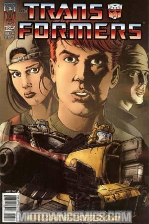 Transformers Infiltration #4 Raiz Cvr
