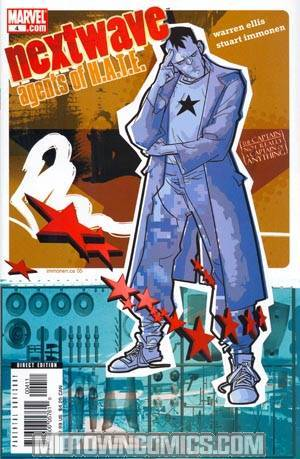 Nextwave Agents Of HATE #4