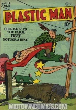 Plastic Man #18