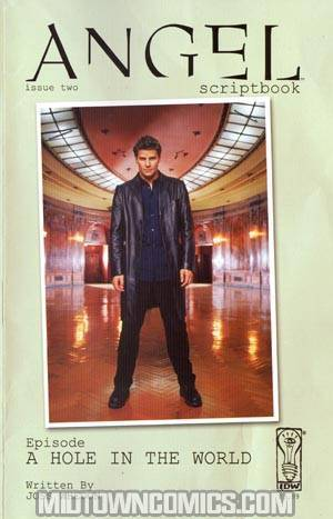 Angel Scriptbook #2 Cover B Regular Photo Cover