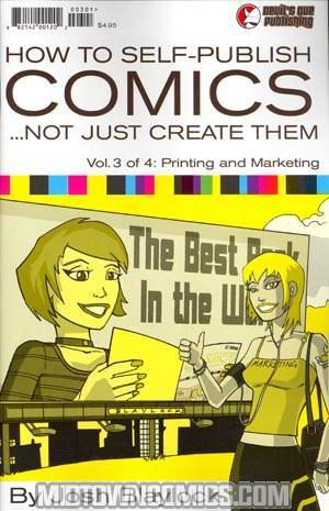 How To Self Publish Comics #3