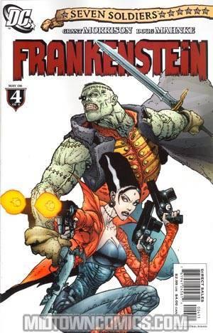 Seven Soldiers Frankenstein #4