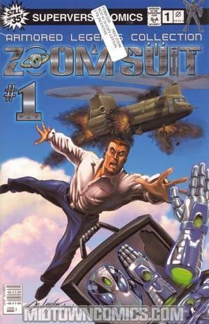 Zoom Suit #1 Incentive Bob Layton Cvr