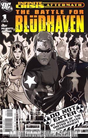 Crisis Aftermath The Battle For Bludhaven #1 Cover B 2nd Ptg