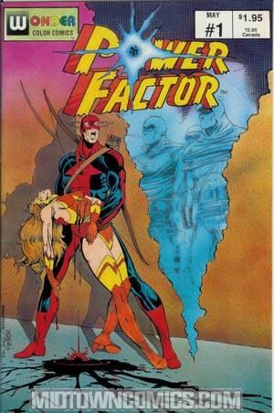 Power Factor (Wonder Color Comics/Pied Piper) #1