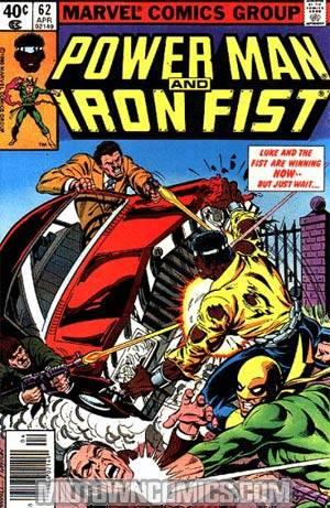 power man and iron fist comic - HD1050×1600