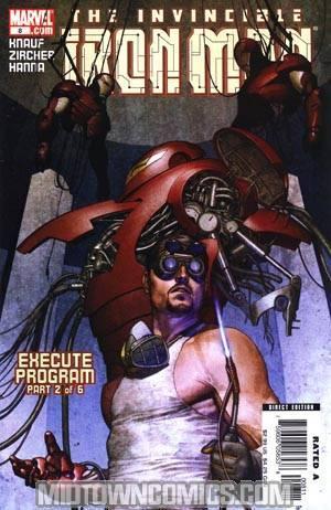 Iron Man Vol 4 #8