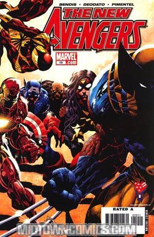 New Avengers #19 (Decimation Tie-In)