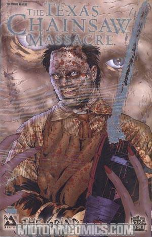 Texas Chainsaw Massacre Grind #1 Foil Incentive Cvr