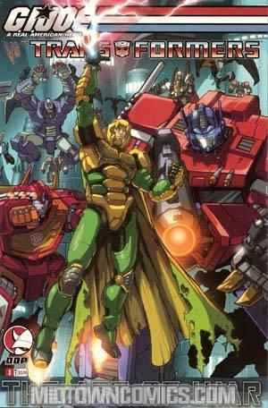 GI Joe vs Transformers Vol 3 Art Of War #3 Cvr A
