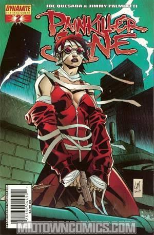 Painkiller Jane Vol 2 #2 Moder Cvr
