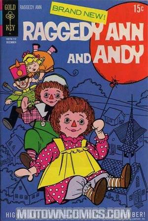 Raggedy Ann And Andy Vol 3 #1