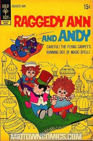 Raggedy Ann And Andy Vol 3 #2