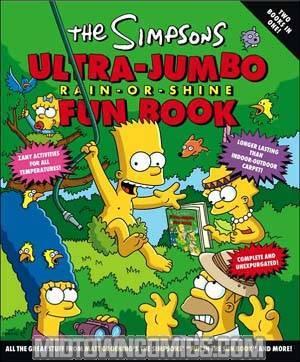 Simpsons Ultra Jumbo Rain Or Shine Fun Book TP