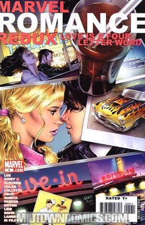 Marvel Romance Redux Love Is A Four Letter Word