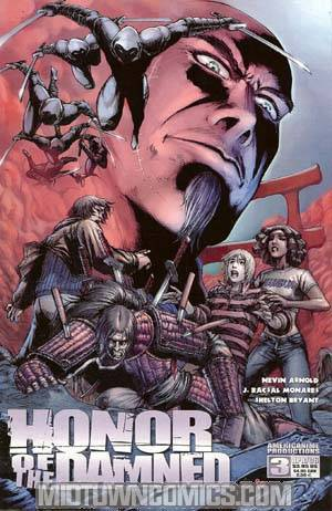 Honor Of The Damned #3