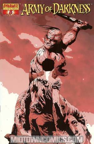 Army Of Darkness #8 Cover F Incentive Jae Lee Alternate Cover