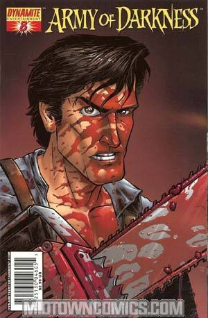Army Of Darkness #8 Cover A Tony Moore Cover