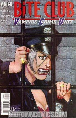 Bite Club Vampire Crime Unit #3